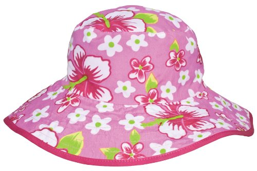 Baby BanZ UV Reversible Bucket Hat, Pink Floral, 0-24 Months
