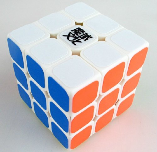 New !! YJ Moyu Liying 3x3x3 Speed Cube Puzzle Smooth 3x3 White