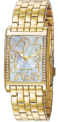 Pierre Cardin Orologio da Polso Donna, Acciaio Inox, Colore Oro