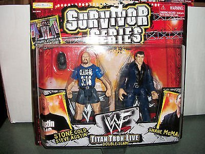 WWF Survivor Series -- The Rock & HHH -- Titan Tron Live Grudge Match - 1
