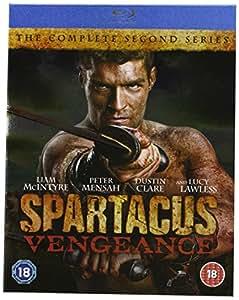 Spartacus - Vengeance [Blu-ray] [UK Import]
