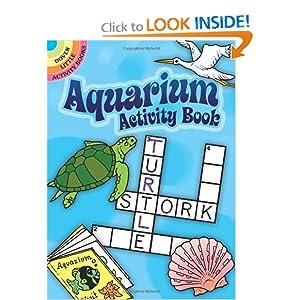 Aquarium Activity Book (Dover Little Activity Books) Suzanne Ross