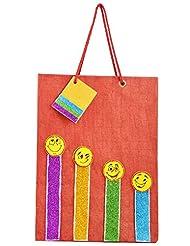 Richa Kriti Paper Maroon Shopping Bag
