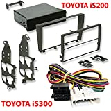 T1 Audio Lexus Car Stero Fitting - Kit Fascia Panel with Amplifier Bypass Lead Adaptor. Lexus IS200 : 2001 to 2004 (Sport and SE models only)