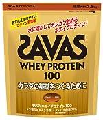 ザバス ホエイプロテイン100チョコレート風味 2.5kg