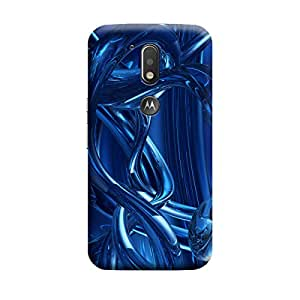 Ebby Premium Printed Back Case Cover With Full protection For Motorola Moto G4 Plus (Designer Case)