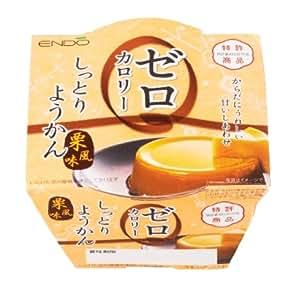 Amazon.com : Endo Xian zero calorie moist yokan chestnut flavor 90g