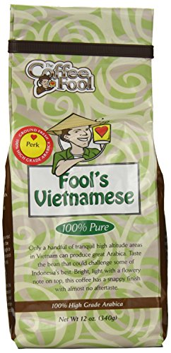 The Coffee Fool Fool'S Vietnamese, Perk, 12 Ounce