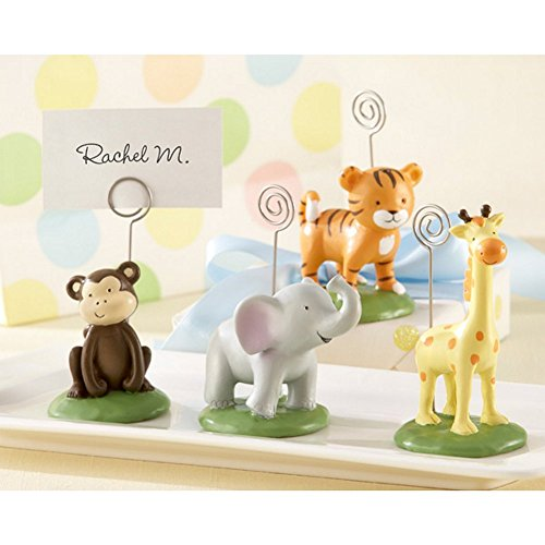Born To Be Wild Animal Place Card or Photo Holders (Set of 8) (Animal Picture Holders compare prices)