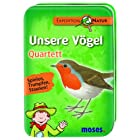 Moses 9671 – Expedition Natur Quartett: Unsere Vögel
