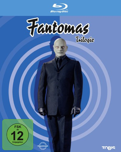 Fantomas - Trilogie [Alemania] [Blu-ray]