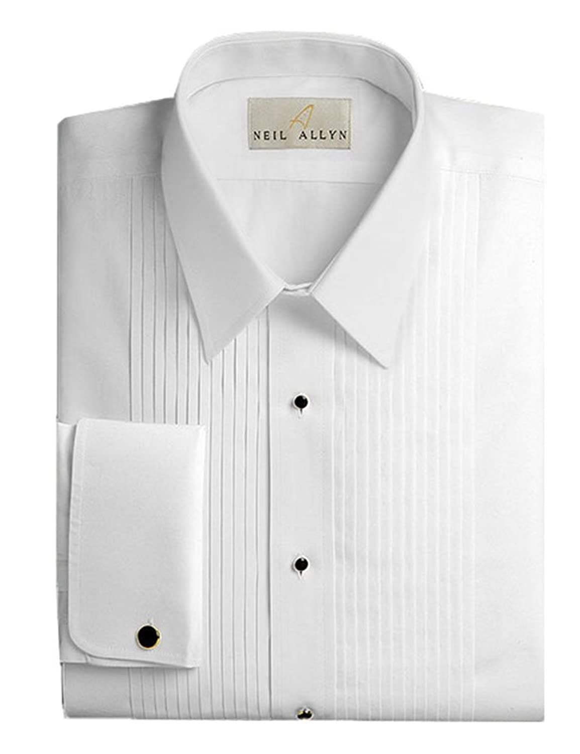 Neil Allyn Men s Tuxedo Shirt- Tuxedo Shirt