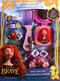Disney's Brave Hair Style Set with Brush, Mirror, Comb, Clips and Pony Tail Holders