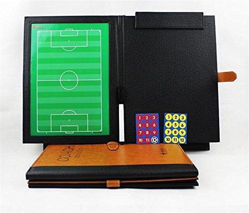 AGPTek® Cartella tattica per allenatore di calcio