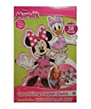 Disney Minnie Mouse Bowtique Sparkling Magnetic Paper Doll Set