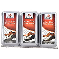 Zora Instant Shoe Shiner (Pack of 3)