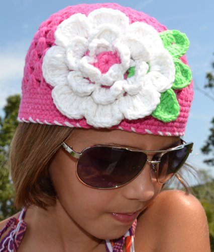 Megan Crochet Children's Hat (2-8 Years)