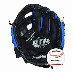 Buy Franklin Sports Tee Ball Recreational Series 9.5-Inch Fielding Glove (Right-Handed... by Franklin