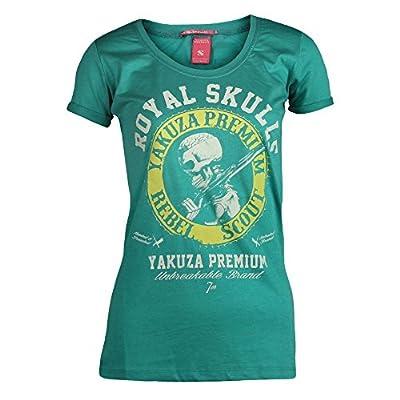 Yakuza Premium Damen T-Shirt 1937 türkis