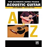 Acoustic Guitar: The Ultimate White Pages : Guitar Tab (Ultimate Song Pages) available at Amazon for Rs.2387