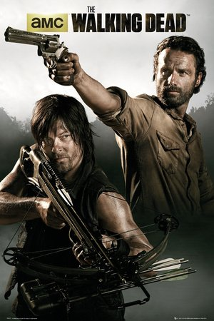 Poster The Walking Dead - manifesto risparmio, cartellone XXL
