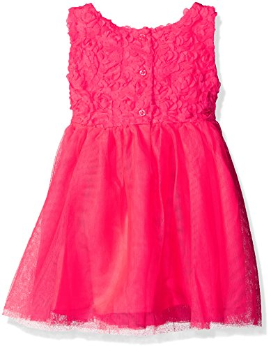 The Children's Place Little Girls and Toddler Sleeveless Floral Bodice Dress, Prima Pink, 4T