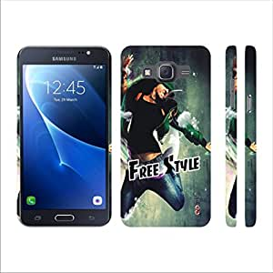 Heartly Dance Style Designer Printed Thin Hard Bumper Back Case Cover For Samsung Galaxy Grand Prime 4G SM-G531F - Free Style Green