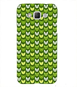 Animated Design Lot of Cat Mouth 3D Hard Polycarbonate Designer Back Case Cover for Samsung Galaxy Grand Max