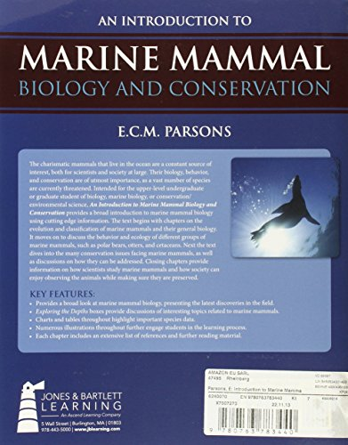 a report on marine mammal biology Careers in marine biology scientific review group activities & supporting documents guidelines for assessing marine mammal stocks: report of the gamms.