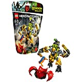 Lego Hero Factory - 44023 - Jeu De Construction - Rocka Et Son Robot De Combat