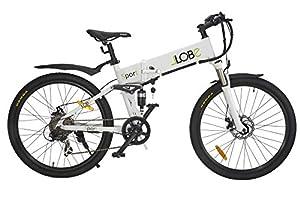 LLobe Erwachsene Elektrofahrrad Sport, Weiß, One size, 130645