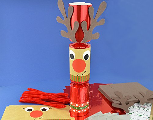 8-red-foil-standy-uppy-rudolph-make-your-own-christmas-crackers-kit