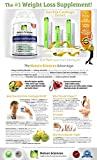 Garcinia Cambogia By Naturo Sciences - Extract Pure - 75% HCA - Ultra Slim Weight Management - Natural Appetite Suppressant and Weight Loss Supplement - Lose Belly Fat Fast - Read Below and Learn How to Naturally Lose Weight Without Feeling Like Youre on a Diet - 1000mg Per Serving, 30 Servings, 90 Capsules