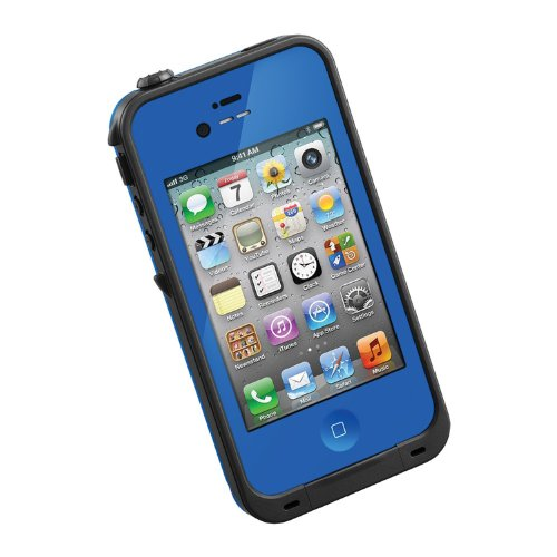 HESGI New Waterproof Shockproof Dirtproof Snowproof Protection Case Cover for Apple Iphone 4 4S Dark Blue (Iphone 4s Energy Case compare prices)
