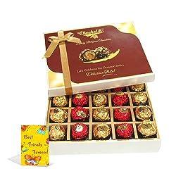 My Special Friend Treat With Friendship Card - Chocholik Luxury Chocolates