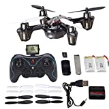 Holy Stone Mini RC Drone with 720p HD Camera,6-Axis Gyro 2.4 GHz,come with 2 Batteries & 8 Blades(Exclusive Design Sport Copter)
