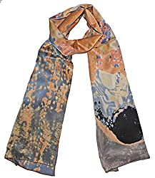 Olina Women's High-Grade Elegant 100% Luxury Long Silk Scarf Shawl (LS011)