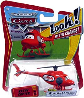 Disney / Pixar CARS Movie 1:55 Die Cast Car with Lenticular Eyes Series 1 Kat...