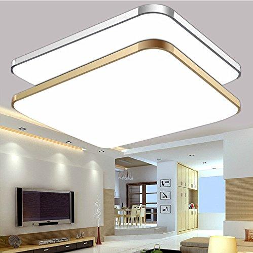 gf moderne led flush mount licht aluminium acryl