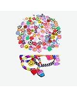 Breloques Pour Bracelets Caoutchouc Loom x 40