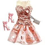 Barbie Doll Outfits 2013 Coral Pink Party Dress