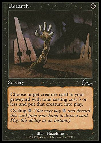 Magic: the Gathering - Unearth - Disseppellire - Urza's Legacy