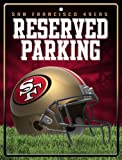 NFL San Francisco 49ers Parking Sign at Amazon.com