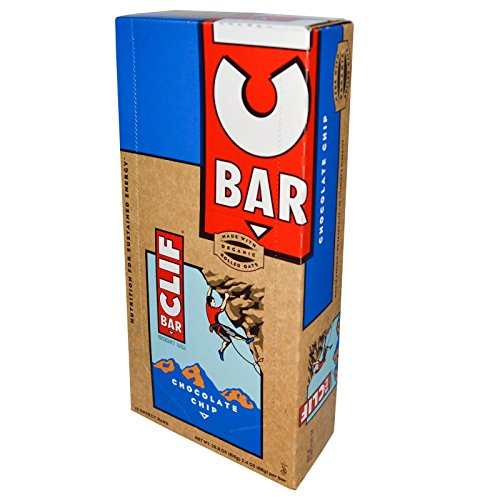 Clif Energy Bar - 50g - Chocolate Chip - pack of 15