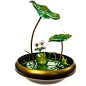 Frog and Lilypad Fountain