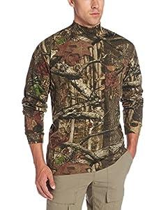 Yukon Gear Men's Long Sleeve Mock T-shirt, Break Up Infinity, 3X-Large