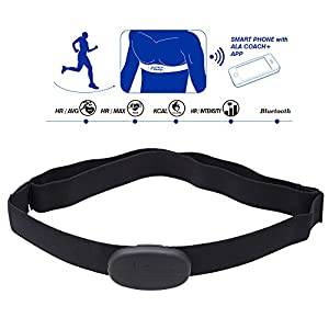 CooSpo H6 ANT Bluetooth V4.0 Wireless Sport Heart Rate Monitor Smart Sensor Chest Strap Fitness Product for iPhone 4S 5 5S 5C 6 6Plus iPad Wahoo Fitness Fitcare