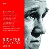 Richter the Master Vol. 1: Beethoven - Piano Sonatas