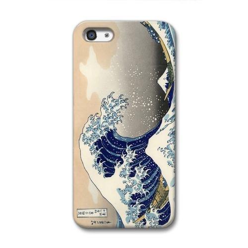 CollaBorn+iPhone5専用スマートフォンケース+神奈川沖浪裏+【iPhone5対応】+CB-I5-005