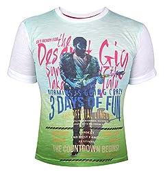 Vitamins Boys' T-Shirt (08B-484-14-P.Green_Light Green_12 - 13 Years)